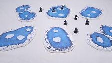 Icy Winter Pools - Warhammer terrain scenery Digital Download wargame 40k 28mm