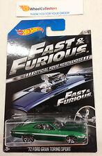 '72 Ford Gran Torino Sport * Fast & Furious * 2014 Hot Wheels * G4