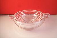 Vintage Anchor Hocking Manhattan Clear Glass Berry Dessert Bowl