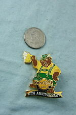 HARD ROCK CAFE PIN BERLIN 17TH ANNIVERSARY BEAR WITH BEER LE 250