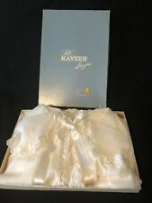 Vintage Womens Lingerie Negligee Kayser White Small Trousseau Lace with Box