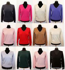 Women's Cashmere V Neck Jumpers & Cardigans