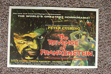 The Revenge of Frankenstein Lobby Card Movie Poster Peter Cushing