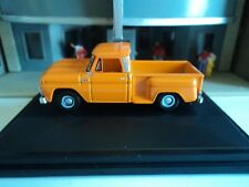 Oxford  1965  CHEVROLET STEPSIDE PICKUP  Orange  1/87   HO  diecast car  GM