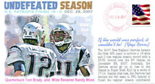 COVERSCAPE computer designed 10th anniversary NE Patriots undefeated event cover
