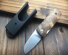 Free shipping New Wood Handle MINI Pocket Knife EDC CMB62