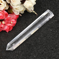 50g 100% Natural Clear Quartz Crystal Point Specimen Healing Rock Stone 150mm