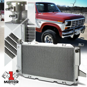 Aluminum 3 Row Performance Cooling Radiator for 85-96 Ford F150/F250/Bronco V8