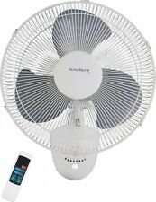 """Homebasix FW40-S1 Oscillating Wall Fan with Remote 16"""" Inch *"""