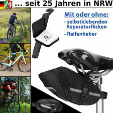 Fahrradtasche Satteltasche Fahrrad Tasche Flickzeug schwarz für Rennrad MTB
