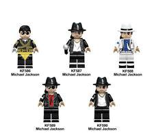 Custom Lego Blocks Michael Jackson Set Limited Edition Mini-Figure Collectable