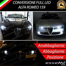 KIT FULL LED ALFA ROMEO 159 ANABBAGLIANTI ABBAGLIANTI LUCI POSIZIONE LED 6000K