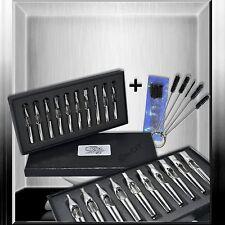 10er Tip Spitzen Set + 5er Bürsten ( f. Tattoomaschine / Nadel/  Farbe)