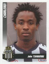 N°112 JOHN TSHIBUMBU # CONGO SPORTING CHARLEROI STICKER PANINI FOOTBALL 2011