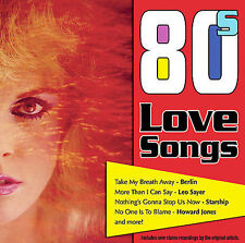 Various Artists : 80s Love Songs CD