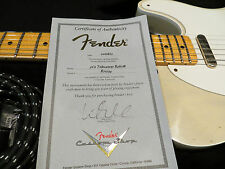 Fender Custom Shop Telecaster FENDER '50's VINTAGE BLONDE RELIC Ash Body