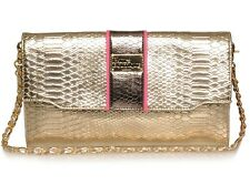 Pauls Boutique Cassie GOLD PINK Serpente Catena POCHETTE £ 50!