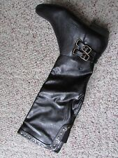 NEW CLIFFS BY WHITE MOUNTAIN BLACK OVER THE KNEE BOOTS WOMENS 7 STYLE; FLOSSY