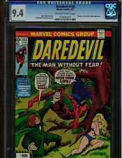 DAREDEVIL  142 CGC 9.4 1977 BULLSEYE, MR. HYDE APPERANCE OFF WHITE TO WHITE PAGE