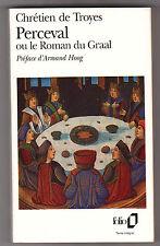 Perceval Ou Le Roman Du Graal - Chretien De Troyes