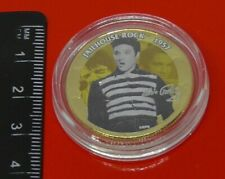Half Dollar America Music Elvis Presley Gold Plated 2005 Jailhouse Rock 1957