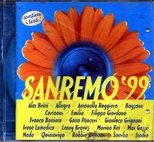ARTISTI VARI SANREMO 99 STADIO BATTIATO NADA CONTIENE I TESTI CD