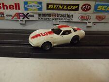 TYCO #3 WHITE 1979 CHEVY CORVETTE #8912 With 440-X2 CHASSIS