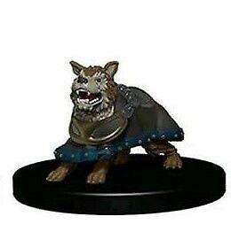 Battle Dog   Wardling Minis NM without Card  Wardlings Wizkids minis D&D Minis