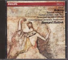 Ravel: Bolero & Orchestral Works - Bernard Haitink (CD, Philips) West Germany