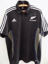 bede3b6e177 2006 Original Adidas New Zealand Rugby Union All Blacks Retro Jersey Shirt  Top