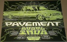 Pavement + Royal Trux FANTASTIC GLOSSY 1997 CONCERT GIG POSTER 23x17 Mint/no cd