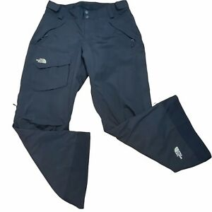 North Face Ski Board Pants Black XL Hyvent Freedom Insulated Vent Adjustable W's