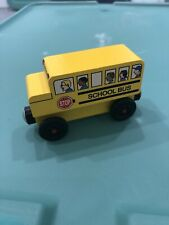 Mister Rogers School Bus Wooden Train