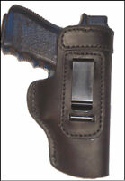 Browning Hi-Power Leather Gun Holster LT RH IWB Black