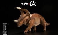 Jurassic Sinoceratops Tower Shield PAINTED PVC 1/35 Dinosaur Museum Model Red
