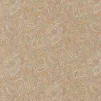Robert Kaufman Paisley Prints Natural beige BTY SB4214D21 fabric