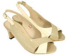 Ladies' Slingback Court Shoe Equity Suzy Stone UK Size 2 E Fitting