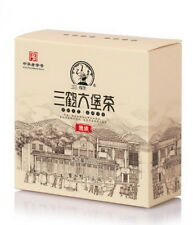 Premium Three Cranes Liupao Hei Cha Liu Bao Black Tea Cake Dark Tea 2012 100g