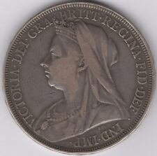 1897 LXI Victoria Silver Crown | British Coins | Pennies2Pounds
