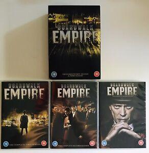 BOARDWALK EMPIRE Season 1 2 3 (Region 2 DVDs) UK Release - Steve Buscemi (VGC)