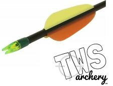 "12x 26"" Fibreglass Target Arrows"