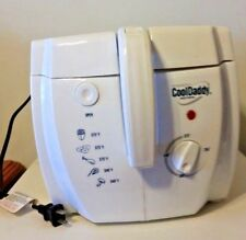 Presto 05443 Cool Daddy Cool-touch Deep Fryer - White