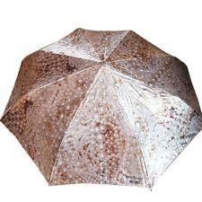 Ombrello Moschino beige luxury tessuto openclose 7004 Umbrella