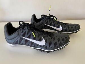 Unisex Nike Zoom Maxcat 4 Running Sprint Spikes 26cm Black Size UK 7 EUR 41
