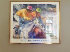 125th Kentucky Derby Framed Official Poster Churchill Downs May 1 1999