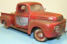 1/18 unrestored, 1948 Ford truck  , weathered , barn find , parts car, junker