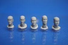 Resin Kit 333 1/35 Bare Head Set