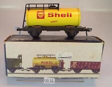 Fleischmann H0 Kesselwagen Blech Shell 2-achsig der DB Ersatz-OVP #4436