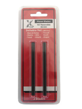 2 x TCT Blades 82mm 3 1/4INCH REVERSIBLE FOR DEWALT-MAKITA-BOSCH-B&D-HITACHI