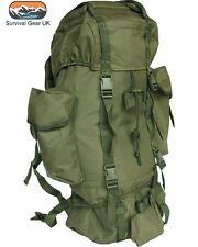 Green Tactical Kombat Rucksack 60 Litre Bergen - Army Cadet Military Hiking
